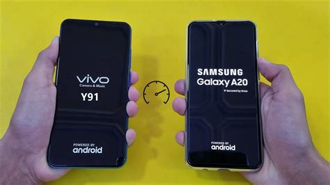 samsung galaxy a20 vs vivo y91 speed test hd