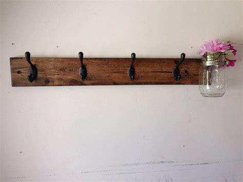 unique coat rack weathered wood coat rack coat rack rustic wood wall coat rack with mason jar entryway