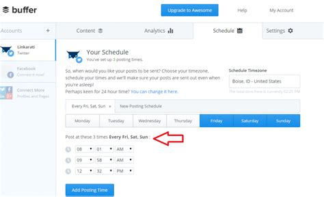 better buffer using buffer to schedule tweets tutorial tuesday