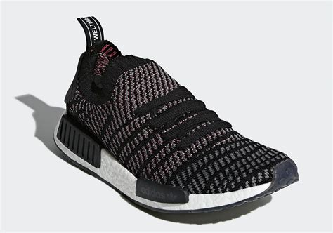 Sepatu Adidas Nmd R1 Pk Primeknit Pitch Black Premium Quality adidas nmd r1 primeknit stlt black release date photos sneakernews
