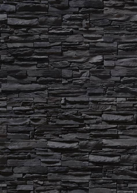 black wall texture black stone wall stone blocks bricks from stone