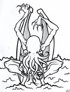 Coloring Book Cthulhu By Ooogidy Boogidy Ink On DeviantArt sketch template
