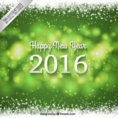 new year green new year 2016 green background vector free