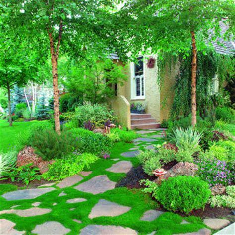 Moss Garden Ideas Front Yard Moss Path Great Garden Paths Sunset