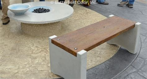 cement bench mold butterfield color concrete bench mold system cascade