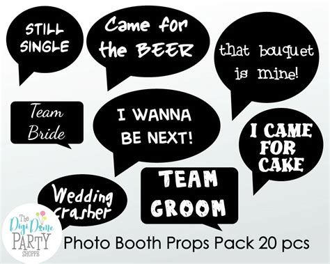 free printable photo booth props speech bubbles wedding photo booth props printable funny speech bubbles