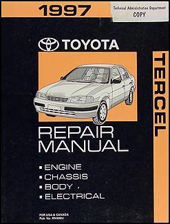 free auto repair manuals 1997 toyota corolla electronic valve timing service manual 1997 toyota corolla workshop manual automatic transmission toyota corolla