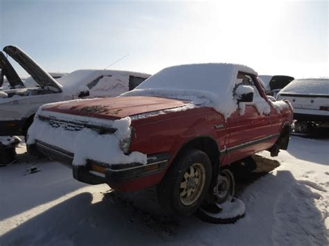 1986 subaru brat junkyard find 1986 subaru brat sawzall style the truth