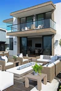 2nd Floor Balcony Plans by Second Floor Floating Balcony Transitional Deck Patio