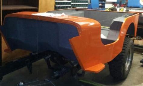 Jeep Fiberglass Tub Willys Jeep Fiberglass Tub