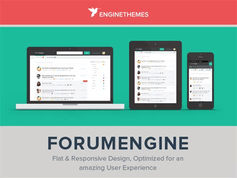 themeforest forum forumengine flat responsive wordpress forum theme