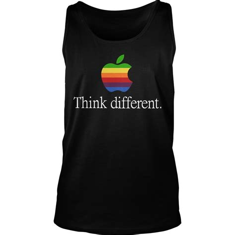 Tshirt Think Different Apple apple think different lgbt shirt hoodie tank top v neck
