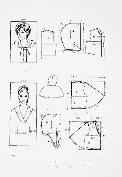 pattern language methodology 61 best diy capuchon images on pinterest sewing patterns