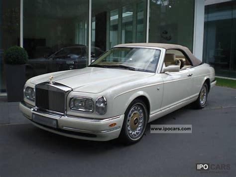 2000 rolls royce corniche rolls royce motor cars