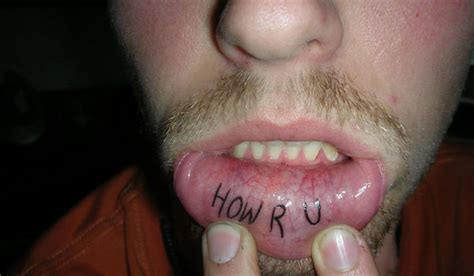 do lip tattoos hurt 26 lip tattoos that look like they hurt photos