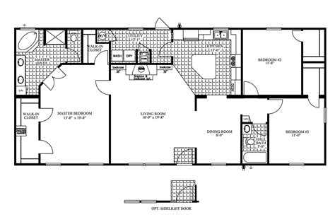 mobil home floor plans manufactured home floor plan 2009 clayton jamestown
