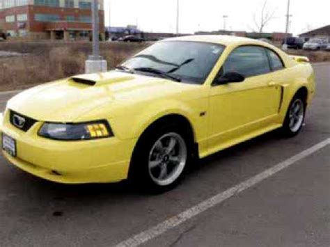 Hyundai Park Mn by 2001 Ford Mustang Gt Deluxe St Cloud Hyundai Waite Park