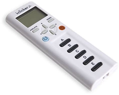 iclicker2 student remote iclickers
