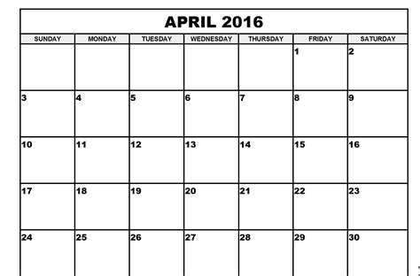 free fillable printable calendar 2016 autos post