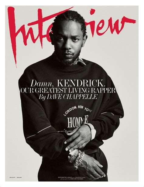 kendrick lamar interview kendrick lamar talks self expression in music as he covers