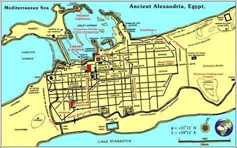 alexandria map ancient locations