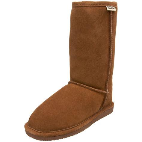bearpaw boots bearpaw 10 quot shearling boot top heels deals