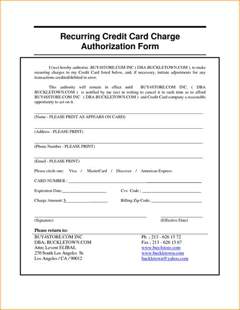authorization forms 150 free sample example format download