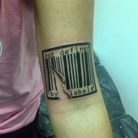 barcode tattoo design awesome top 100 barcode http 4develop ua
