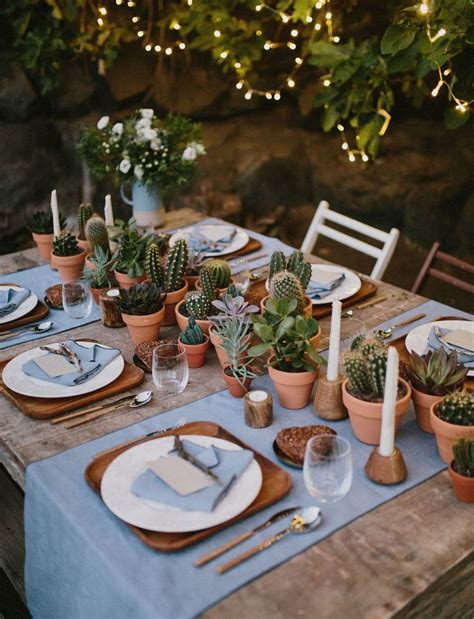 25 best ideas about succulent table decor on