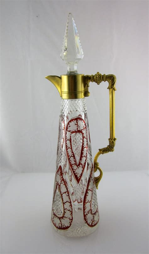 antiques atlas beautiful bohemian cut glass decanter