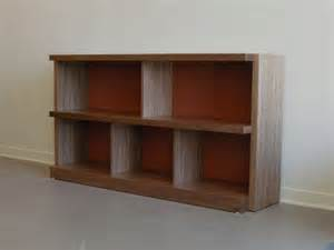 bookshelves san francisco low bookcase walnut laminate modern bookcases