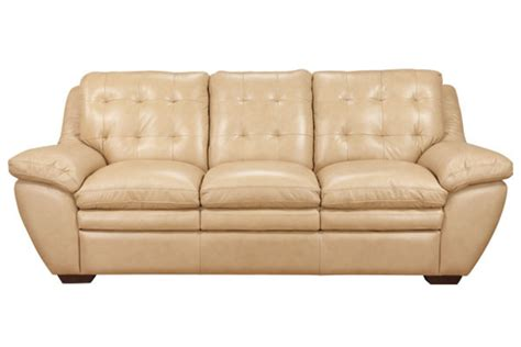 all leather couches vicky taupe all leather sofa at gardner white