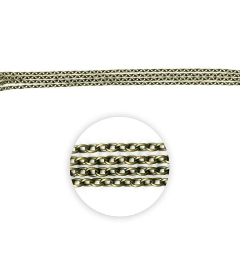 blue moon chain blue moon metal chain 3x2 5mm oval cable oxidized