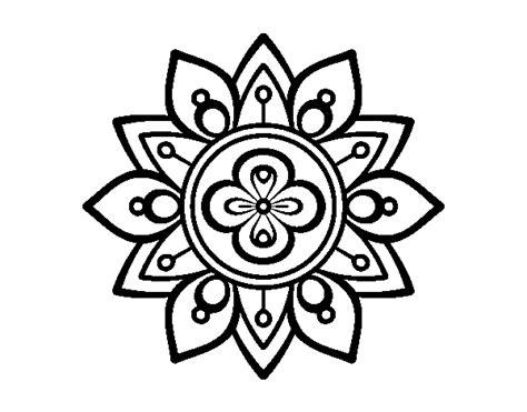 fiore di loto disegno disegno di mandala fior di loto da colorare acolore