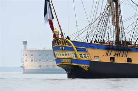 hermione bateau trajet en images 235 ans apr 232 s l hermione reprend la mer l