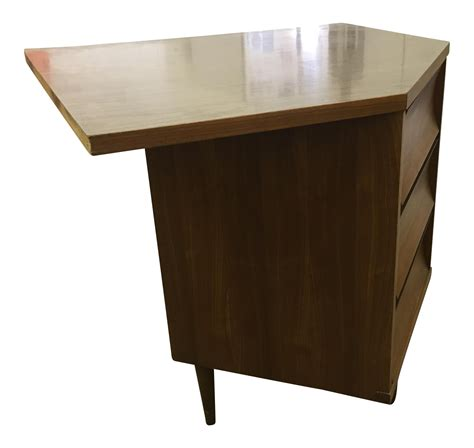 mid century corner desk mid century modern corner desk chairish