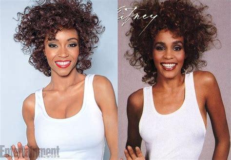 Whitney Houston Biopic How Yaya Dacosta Became The Singer | see yaya dacosta as whitney houston for biopic