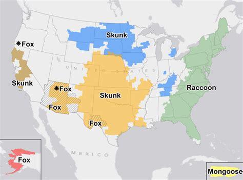 unm cus map rabies map