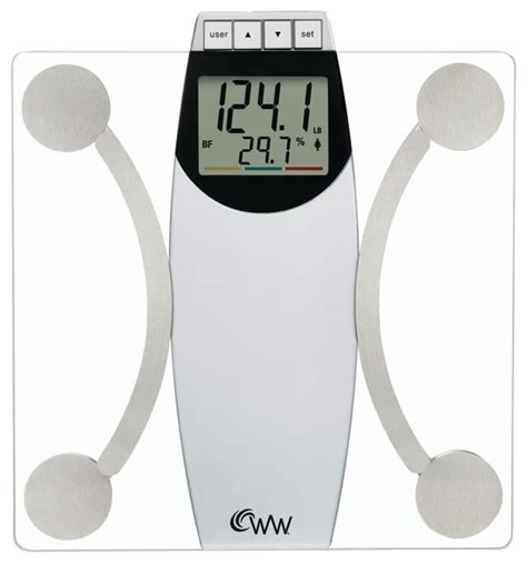 weight watchers bathroom scales weight watchers glass body analysis scale bathroom