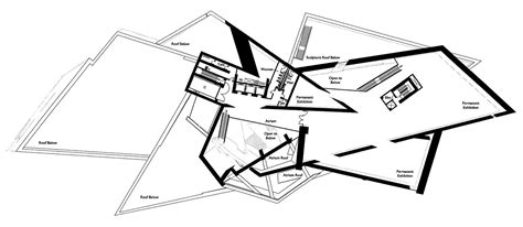 denver art museum floor plan gallery of denver art museum studio libeskind 35