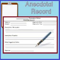 fast easy anecdotal record form student the o jays and