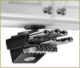 Kitchen Under Cabinet Lighting by Under Cabinet Knife Storage Drawer Home Design Ideas