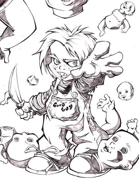 chucky by alex chamaco on deviantart