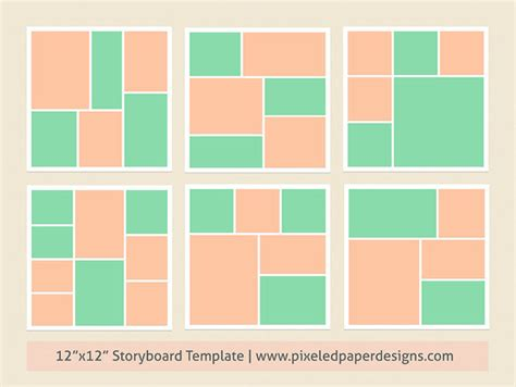printable storyboard template cliparts co