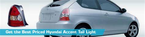 accident recorder 2001 hyundai accent interior lighting hyundai accent tail light taillights action crash dorman tyc 2008 2007 2009 2010 2006 2011