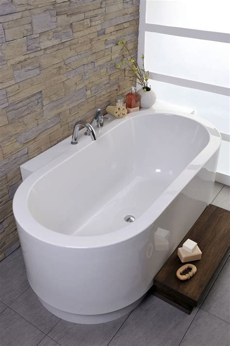 On Bathtub by Aquatica Matrix D Deck Mount Solid Brass Bathtub Filler In