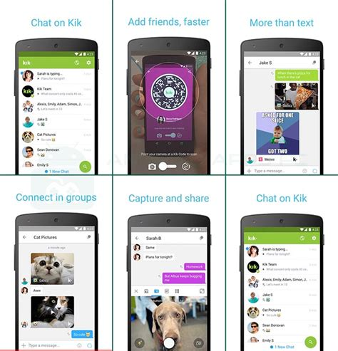 kik app for android kik for pc windows 7 8 8 1 10 xp mac os x apps for pc android