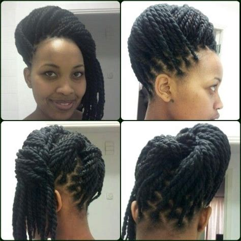 hair style with color yarn top 53 ideas about yarn twists on pinterest protective