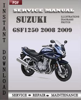 free online car repair manuals download 2008 suzuki reno transmission control suzuki gsf1250 2008 2009 free download pdf repair service manual pdf