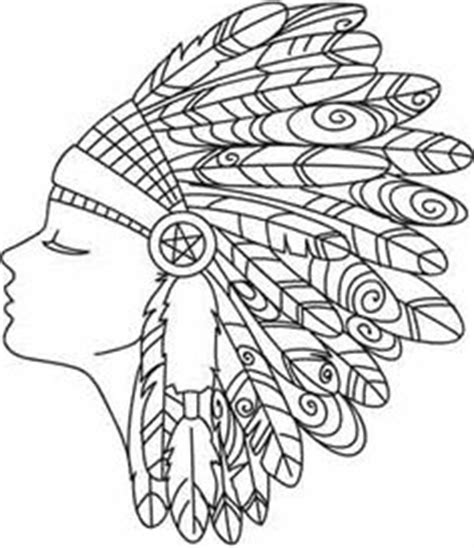 coloring page indian headdress simple patterns and designs to draw google search art